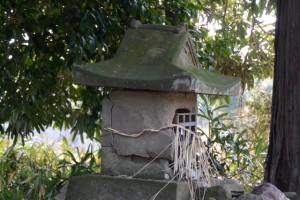 石の祠(千引神社付近)