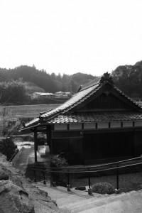 伊賀街道 長野宿、長野川へ