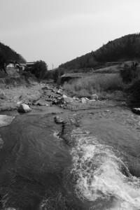 長野川、長野橋下流側(津市美里町北長野)