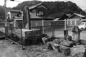長野宿の火除け土手跡(津市美里町北長野)