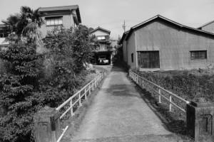 伊賀街道 長野宿から脇道へ