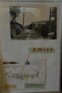 火除け土手の資料(美里ふるさと資料館)