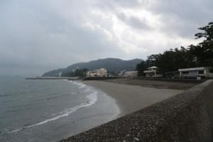 二見浦海岸(御塩殿神社付近)