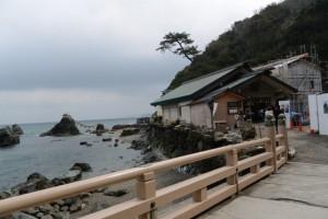 夫婦岩と二見興玉神社