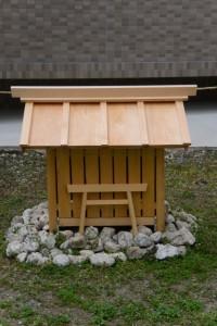 廣峰神社旧跡に建てられた小社(伊勢市河崎)