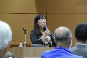 NPO法人長良川環境レンジャー協会 副理事長 名和 あけみさん
