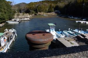 安楽島漁港からの入江(鳥羽市安楽島町)
