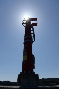 安楽島港 東防波堤灯台(鳥羽市安楽島町)