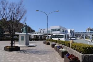 鳥羽駅前、御木本幸吉の銅像ほか