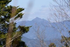 阿曽風穴の分岐(祝詞山〜滝原浅間山)からの眺望