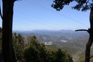 阿曽風穴の分岐〜滝原浅間山からの眺望