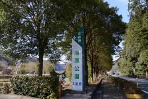 滝原公園から岩瀧神社へ(大紀町滝原)