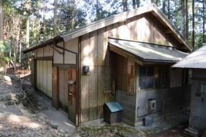 岩瀧神社の社務所(大紀町滝原)