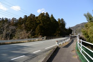 岩瀧神社(大紀町滝原)付近