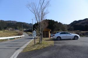 坂本棚田駐車場(亀山市安坂山町)