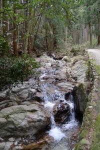 経ヶ峰 山出ルート 登山口駐車場〜枇杷ヶ谷地蔵