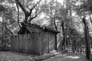 国津御祖神社(皇大神宮 摂社)、葦立弖神社(同末社)を同座