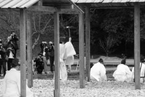 神田下種祭、神田祭場の儀(神宮神田)