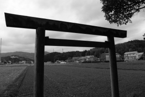 加努弥神社(皇大神宮 末社)からの風景