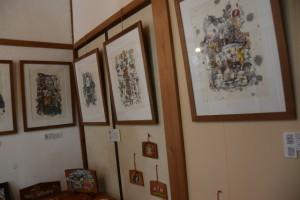 杉坂董(ただす)遺作展「三重の祭り」(木間々な美術館)