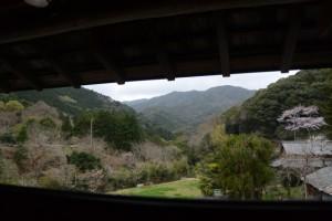 木間々な美術館から望む風景(伊勢市横輪町)