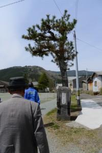旧阿曽小学校の校門(大紀町)