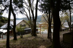 八柱神社(大紀町阿曽)からの眺め