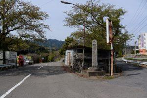 県道10号から石山観音道へ
