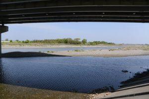 宮川大橋から望む宮川の風景