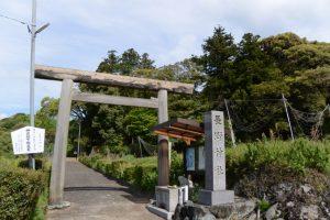 第六十一回式年御遷宮記念 神宮下賜鳥居(長野神社)
