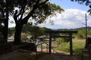 長野神社からの風景(津市美里町北長野)