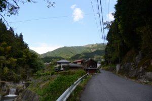 (市営)平木口バスのりば付近からの風景(津市美里町平木)