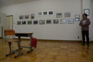 写真展「身近な風景・」もギャラリートーク(美里ふるさと資料館)