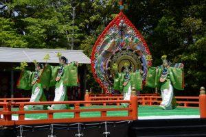 胡蝶(春季神楽祭 神宮舞楽)