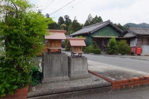 川添神社付近の天王さん(大台町栃原)
