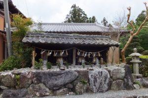 神瀬多種神祠(熊野古道伊勢路)