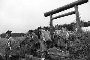 神田御田植初(神宮神田から大土御祖神社へ)