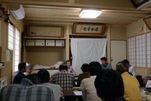 古文書の会(河邊七種神社社務所)
