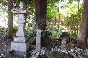 牟山中臣神社の兩宮遙拝所(伊勢市田尻町)