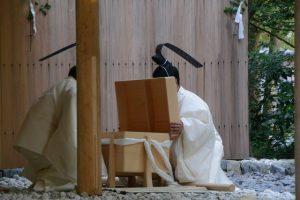 土宮での風日祈祭(外宮)