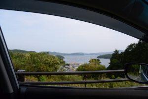 パールロードからの眺望