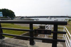 大津橋(大津川)(国崎漁港付近)