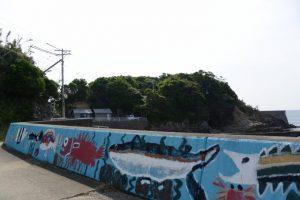 国崎漁港から神宮御料鰒調製所へ