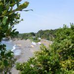 県道750号 阿児磯部鳥羽線から眺めた老の浜浜