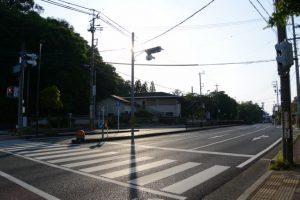 岡本一丁目交差点(御木本道路)
