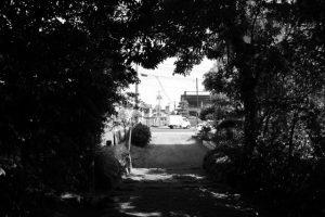 堅田神社(皇大神宮 摂社)からの風景