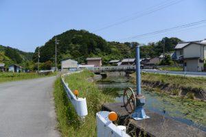 松下川(二見町松下)