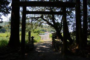 栄野神社(二見興玉神社 摂社)からの風景