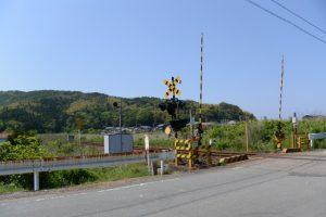 JR江之道踏切 付近