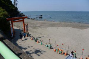 二見興玉神社 禊浜付近